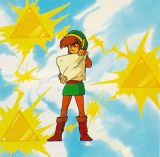Link Reads Scroll