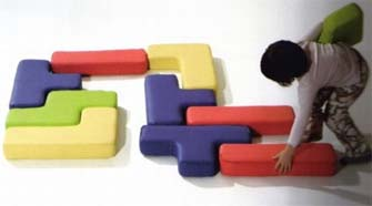 Tetris blocks furniture
