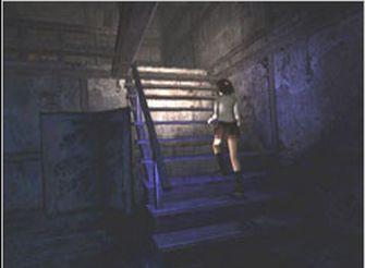 Fatal Frame 1 Screenshot - Miku Stairs (PS2 & Xbox)