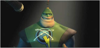 Captain Qwark in Ratchet & Clank Future