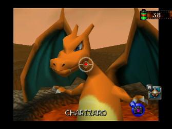Pokemon Snap Screenshot - Charizard