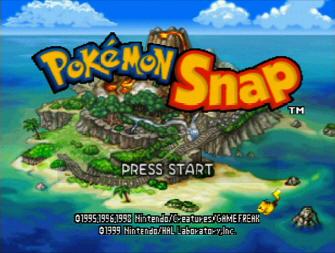 Pokemon Snap Screenshot - Title