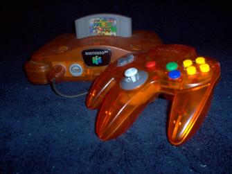 Super Mario 64 N64 Console