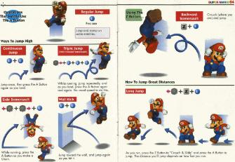 Super Mario 64 Moves List