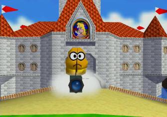 Super Mario 64 Screenshot - Lakitu Cameraman