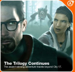 Half-Life 2: Episode 3 sees the trilogy continue