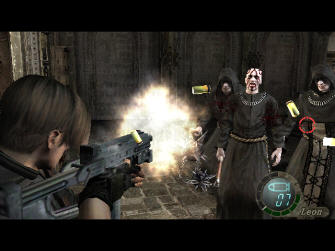Resident Evil 4 Wii Screenshot - Cultists