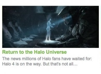 Halo 4 Xbox.com confirmation picture