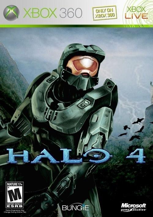 Halo 4 Xbox 360 fake boxart