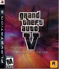 Grand Theft Auto 5 PS3 fake boxart