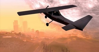 Grand Theft Auto San Andreas Great Flying Pic