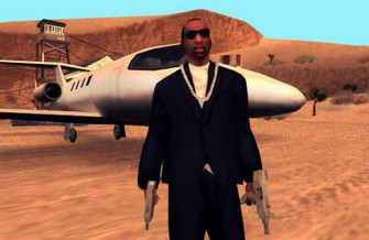 Grand Theft Auto San Andreas screenshot Jet and Double Wield