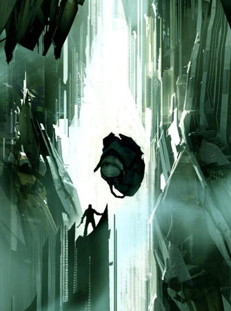 Gordon Versus Advisor in Half-Life 2: Episode 3 artwork
