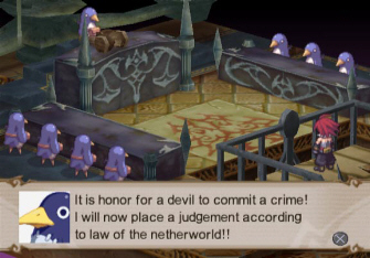 Disgaea 2: Cursed Memories Crime Screenshot