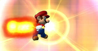 Mario Super Sluggers Fire Screenshot
