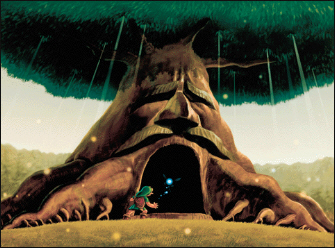 The Great Deku Tree Artwork (Zelda: Ocarina of Time)