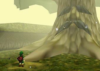 Ocarina of Time was Zelda's first step into 3D (screenshot)