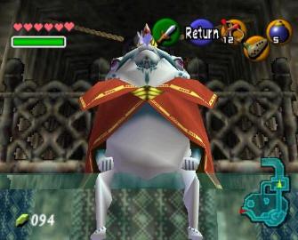 King Zora Screenshot (Zelda: Ocarina of Time)
