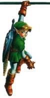 Link Hanging Artwork (Zelda: Ocarina of Time)