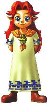 Malon Artwork (Zelda: Ocarina of Time)