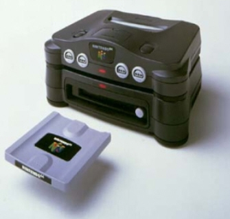 The Nintendo 64DD Disk Drive
