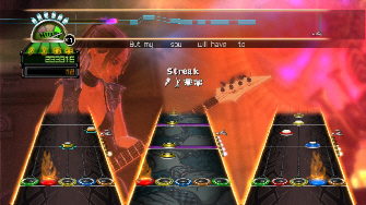 Play Guitar Hero 4: World Tour with all songs unlocked