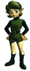 Saria (artwork) is Link's best friend (Zelda: Ocarina of Time)