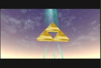 Triforce Screenshot - Zelda Ocarina of Time