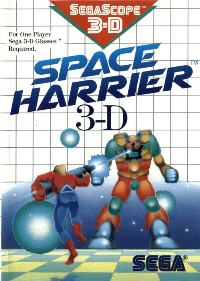 Space Harrier 3D on Sega Master System