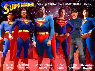 Superman Actor Comparison