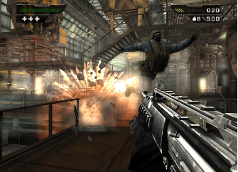 Black 1 for PS2 & Xbox was nicknamed 'gun porn' due to it's realism and overblown destruction