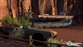 PlayStation Home Screenshot of the Motorstorm environment