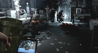 Aliens: Colonial Marines Squad Screenshot