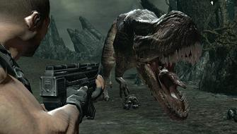 Turok shoots his last T-Rex
