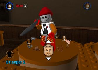 Lego Indiana Jones' character creation mode