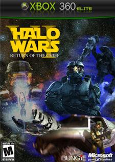 Halo Wars 2 Xbox 360 fake boxart