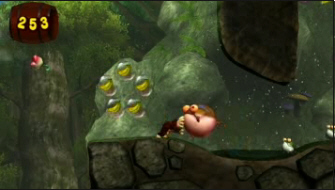 Donkey Kong Jungle Beat screenshot. New Play Control