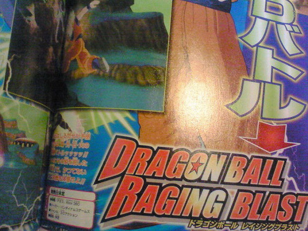 Dragon Ball Z: Raging Blast scan 2
