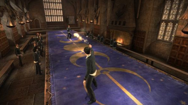 Harry Potter and the Half-Blood Prince screenshot on the outer-limits of Hogwarts