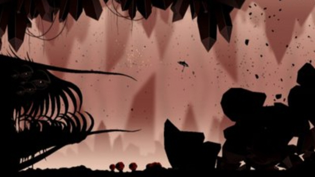 Insanely Twisted Shadow Planet gameplay screenshot. Beauty in motion