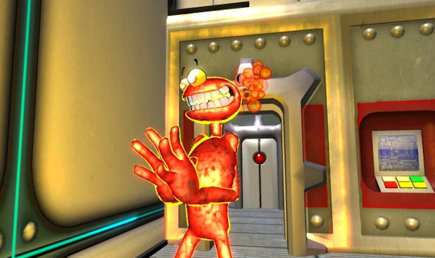 Splosion Man on Xbox Live Arcade