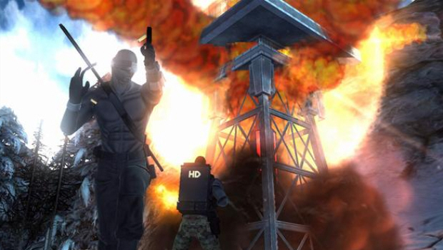 As this GI Joe: Rise of Cobra game screenshot shows, some mission objectives will have you blowing things up