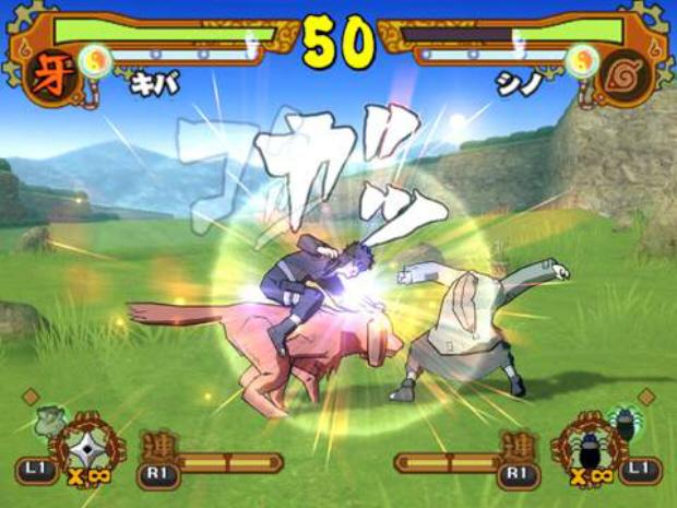 Naruto Shippuden Ultimate Ninja 5 screenshot