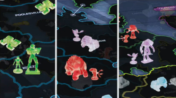 RISK Halo Wars: Collector's Edition boardgame screenshot
