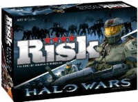 RISK: Halo Wars boardgame box artwork