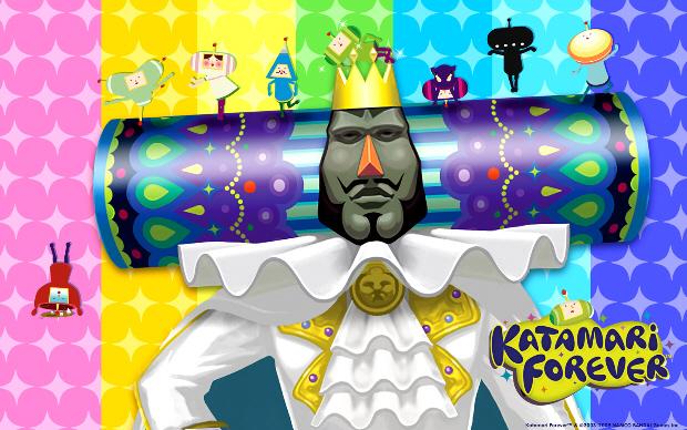 Katamari Forever wallpaper King & Cousins