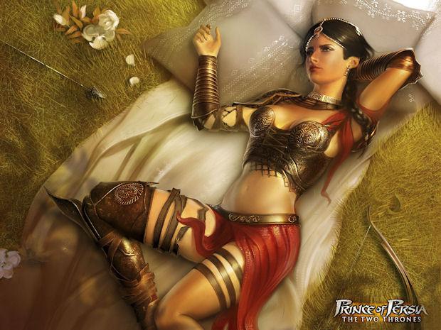 Prince of Persia: Farah character art