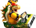 Bowser Mario Kart Wii wallpaper