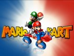 Mario Kart Wii wallpaper logo