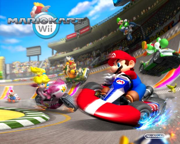 Mario Kart Wii wallpaper Racers - 1280x1024